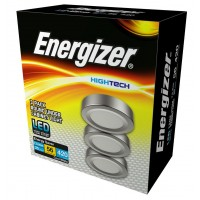 Energizer 3 Pack Round Under Cabinet LED light kit  7.5w (4000k)